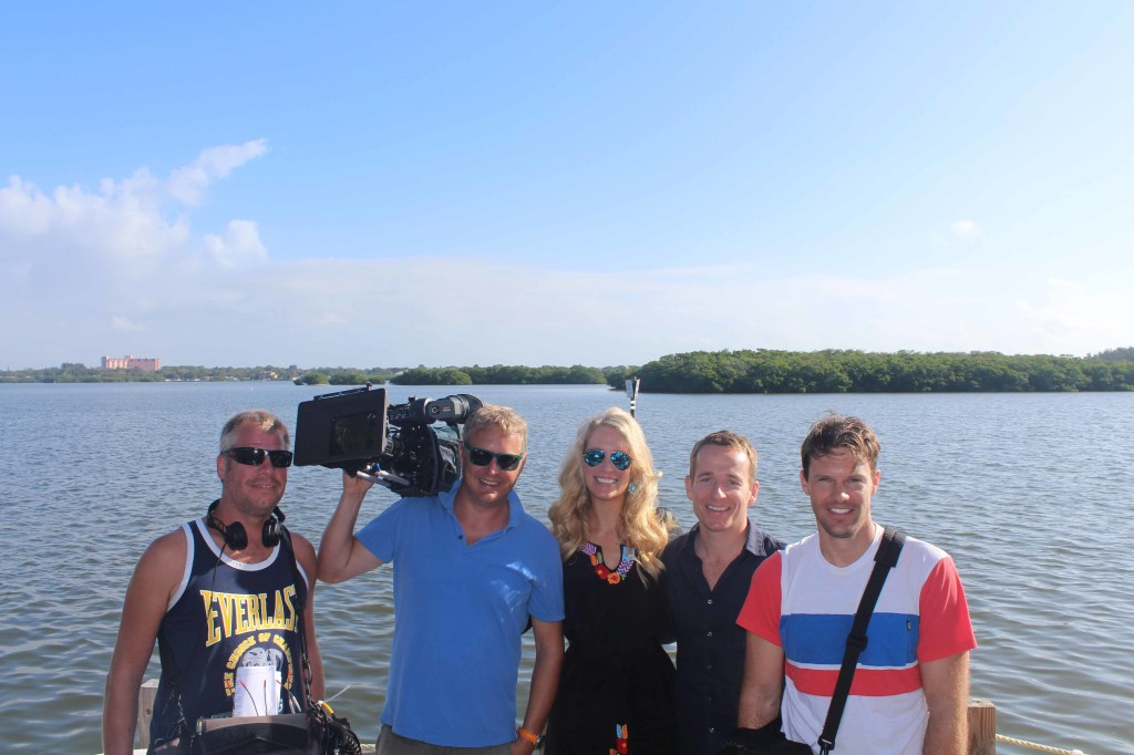 Brits Film Real Estate Segment in Sarasota